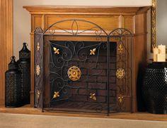 Splendor Fireplace Screen