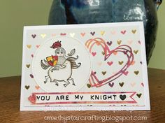 AmethyStar Crafting : Stampin Up Magical Day Knight in Shining Armour