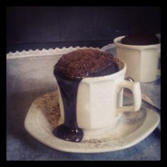 Sjokolade-koek-koppie