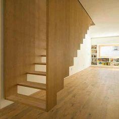 Strange stairway
