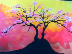 árvore cerejeira da Ana. Linda!