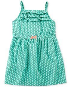 Carter's Baby Girls' Sleeveless Dress - Kids - Macy's