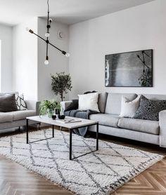 Simple and cozy home - via Coco Lapine Design blog