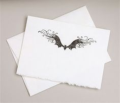 Inkadinkado's Creepy Crawly Bat Stamp... great idea for bat doodles!