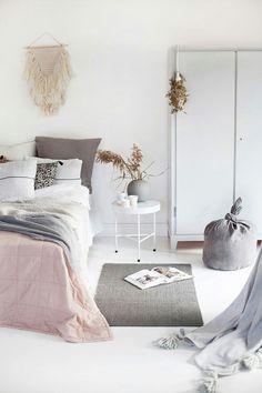 Boho details for this room inspo Dream Bedroom, Home Bedroom, Bedroom Decor, Bedroom Designs, Modern Bedroom, Kids Bedroom, Bedroom Inspo, Bedroom Ideas, Bedroom Styles