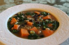 Alea's Ginger, Sweet potato and Bean Soup Recipe