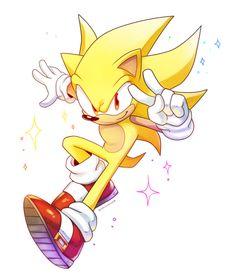 Super Sonic by Drawloverlala on DeviantArt Sonic The Hedgehog, Hedgehog Movie, Hedgehog Art, Silver The Hedgehog, Shadow The Hedgehog, Game Character, Character Design, Marshmello Wallpapers, Sonic Underground