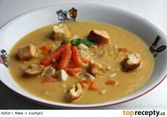 Cheeseburger Chowder, Thai Red Curry, Ham, Food And Drink, Ethnic Recipes, Soups, Chowders, Soup, Hams