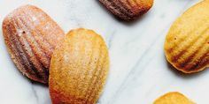 I Quit Sugar: Almond Mandarin and Orange Blossom Madeines by Caroline Griffiths Healthy Baking, Healthy Treats, Yummy Treats, Healthy Food, Sweet Treats, Healthy Recipes, Almond Recipes, Baking Recipes, Free Recipes