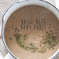Basic Beef Baby Puree More