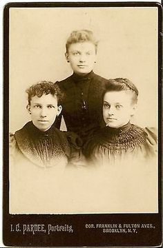 Rebecca-Talbot-Perkins-Suffragette-Activist-Feb-1891-Brooklyn-NY. Two Cabinet cards. First one is of three young ladies taken in Feb. 1891. On the back they are identified left to right: 1) Rebecca Clarendon Talbot 2) Adeline Charlotte Talbot 3) Minnie Elizabeth Talbot I know they first two were sisters and I assume Minnie was also their sister. The main subject is Rebecca, who was born 1866 in Brooklyn,NY and passed away in 1956 at the same place, aged 90. She led a rich, full life taking…