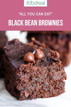 Easy and THE BEST Flourless Black Bean Brownies with dates instead of sugar. You can basically have them for breakfast.Healthy, Easy and THE BEST Flourless Black Bean Brownies with dates instead of sugar. You can basically have them for breakfast. Healthy Dessert Recipes, Healthy Baking, Vegan Desserts, Healthy Desserts, Baking Recipes, Recipes With Dates Healthy, Healthy Sugar, Healthy Pumpkin, Dinner Healthy