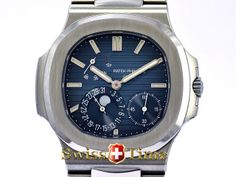 Buy a Patek Philippe 5712/1A Nautilus Moonphse Power Reserve watch on Presentwatch