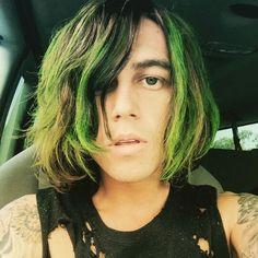 HE DYED HIS HAIR FOR THE TOUR