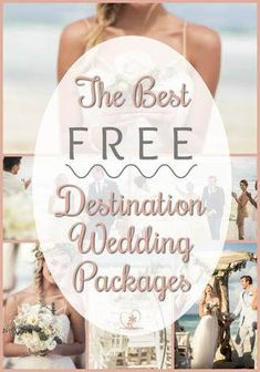 The best free wedding packages for all-inclusive resorts. #unicobride #destinationwedding #vowswithaview