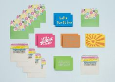 Cricut Creations - 'Sunshine' card making kit from Provo Craft.