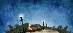 """It's hard to believe this is our final piece of """"Reading Under the Stars""""-inspired art! Cheers to a summer full of wonderful #summerreading adventures! http://bit.ly/14SRC"""