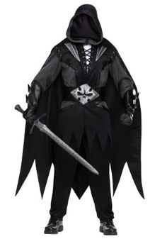Funworld Mens Cool Outfit Creepy Spooky Evil Knight Medieval Costume, One Size Fun World http://smile.amazon.com/dp/B00NY437SQ/ref=cm_sw_r_pi_dp_pAcJwb1G4QJ9N