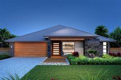 Gardner Homes - Custom Home Builders House Front Design, Modern House Design, Exterior House Colors, Exterior Design, Build Your Own House, Facade House, Custom Home Builders, Planer, House Plans