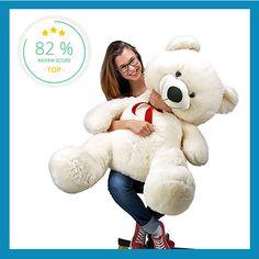 Mache jemandem mit dem kuscheligen XXL Teddybären eine Freude!