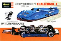Mickey Thompson's 1960 Challenger I Land Speed Record Car