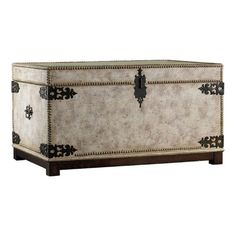 I pinned this Victoria Storage Trunk from the Hooker Furniture event at Joss and Main!