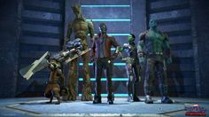 First Images from Telltale's Guardians of the Galaxy