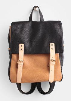 Blake Two-Toned Backpack