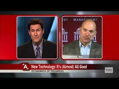 Andrew McAfee: New Technology, It's (Almost) All Good - YouTube (Oct 2014)