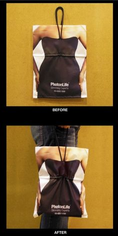 Cool | shopping bag | creative | packaging | ecommerce