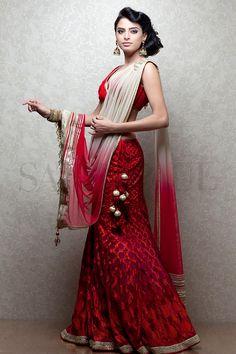 Satya Paul http://www.satyapaul.com/satyapaul/shop/bridal-wear/bridal-lehengas/esw2514-00 ~ http://www.facebook.com/SatyaPaulIndia