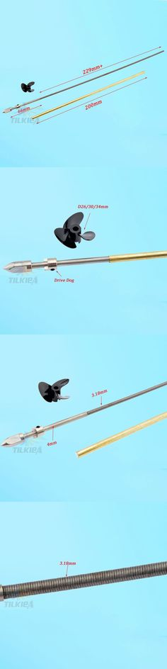 For Rc Boat Right Flexible Axle Flex Cable Adjustable Strut Prop Drive Dog 4mm W