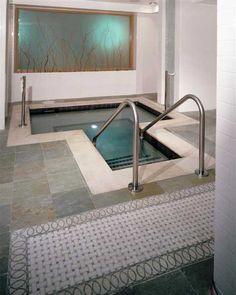 Custom marble floor