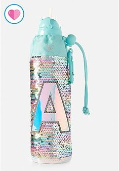 Justice is your one-stop-shop for on-trend styles in tween girls clothing & accessories. Shop our Pastel Flip Sequin Initial Sleeved Water Bottle. Unicorn Room Decor, Unicorn Rooms, Justice Accessories, Girls Accessories, Tween Girls, Toys For Girls, Unicorn Water Bottle, Unicorn Fashion, Cute Water Bottles