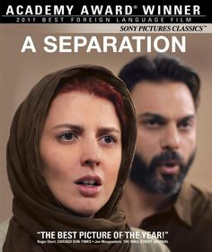 A middle-class husband and wife in Tehran find complications as they seek a divorce. After they separate, a misunderstanding with a new housemaid sees them face off in court against a couple in a more traditional marriage. Both a realistic drama and suspenseful thriller, A Separation investigates the social challenges in a culture torn between opposing definitions of marital commitment, where neither position seems to be morally certain. Winner for Best Foreign Language Film