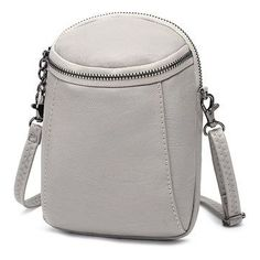 Woman Round Little Phone Bag Casual PU Crossbody Bag Bucket .-Woman Round Little Phone Bag Casual PU Crossbody Bag Bucket Bag Vintage Bag Woman Round Little Phone Bag Casual PU Crossbody Bag Bucket Bag Vintage Bag - Crossbody Bags For Travel, Leather Crossbody Bag, Pu Leather, Clutch Bag, Travel Bag, Leather Bags, Amazon Mode, Cute Bags, Casual Bags