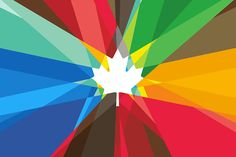 Watching Canada in the Olympics. Mosaic Maple Leaf Graphic for the Canadian Olympic Team. Olympic Committee, Olympic Team, Olympic Games, Olympic Icons, Olympic Logo, Olympic Athletes, Grid Design, Graphic Design, Design Design