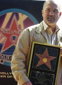 Billy getting his star.