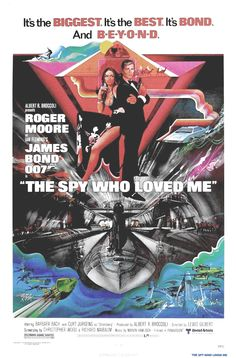 """The Spy Who Loved Me FRIDGE MAGNET movie poster /""""style A/"""""""