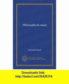 Philosophy Bertrand Russell's Essay