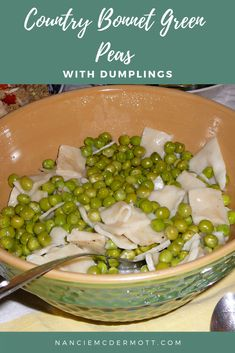 This essential dish is family fare, where home cooks turned a cup of flour, an apronful of English peas, and a pot of water with butter and salt into a worthy and satisfying meal. Retro Recipes, Vintage Recipes, Mama Dips, Food Dishes, Main Dishes, Best Comfort Food, Comfort Foods, Chicken Mashed Potatoes, Best Selling Cookbooks
