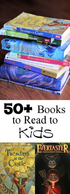 Books to Read Aloud to Your Kids A Huge List of Great Chapter Books to Read with Your Kids!A Huge List of Great Chapter Books to Read with Your Kids! I Love Books, Good Books, Books To Read, My Books, Library Books, Library Ideas, Kids Reading, Teaching Reading, Reading Books