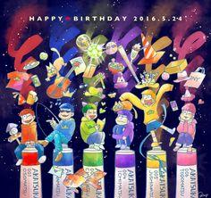 Happy Birthday 5.24  生まれてきてくれてありがとう!