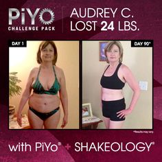 PiYo and Shakeology: Fluid movement, dense nutrition, and results - Shakeology