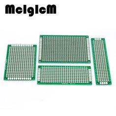 86040 Free Shipping 4pcs 5x7 4x6 3x7 2x8 cm double Side Copper prototype pcb Universal Board electronic diy kit PCB