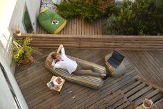 #outdoor #exterior #beanbag #beanbags #madeingreece #pouf #poofomania #design