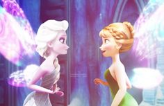 Am I the only one who was thinking about Secret of the wings when I saw Frozen?!?!?!?!?!?!
