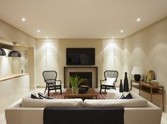 Designer tips on keeping your basement light and open