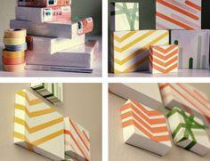 Diy: Washi Tape Art