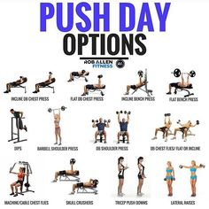 Bench Workout Plan - 15 Bench Workout Plan , Upper Body Push Workout for Better Delts Pecs and Triceps Push Day Workout, Push Pull Legs Workout, Push Pull Workout Routine, Workout Plans, Fat Workout, Dumbbell Workout, Workout Schedule, Workout Guide, Workout Ideas